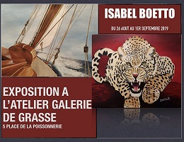 Exposition Isabelle BOETTO Grasse 2019