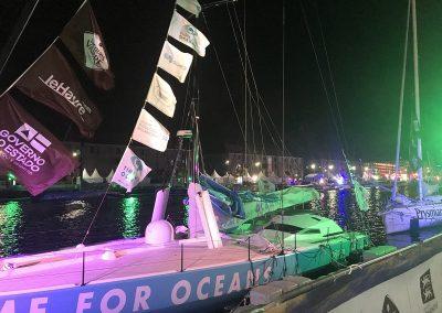 Départ de la Transat Jacques Vabre 2019