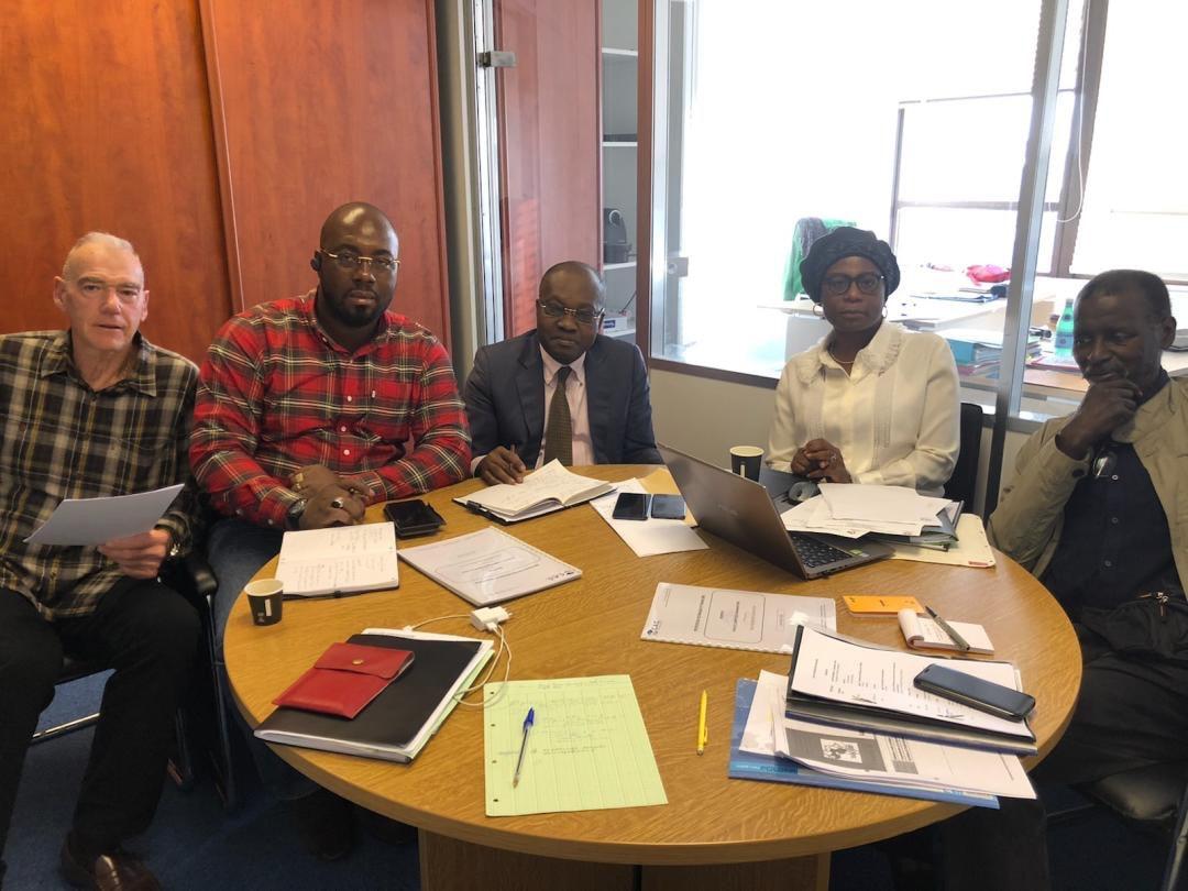 Réunion Ficadex avec Mr Konan - Côte d'Ivoire